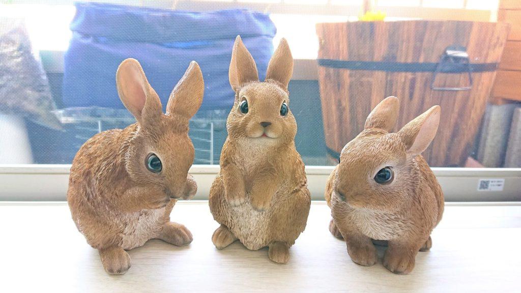 ウサギ インテリア