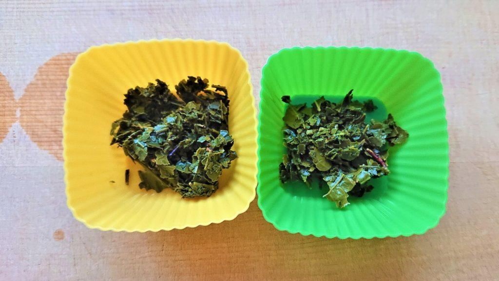 緑茶のお茶がら