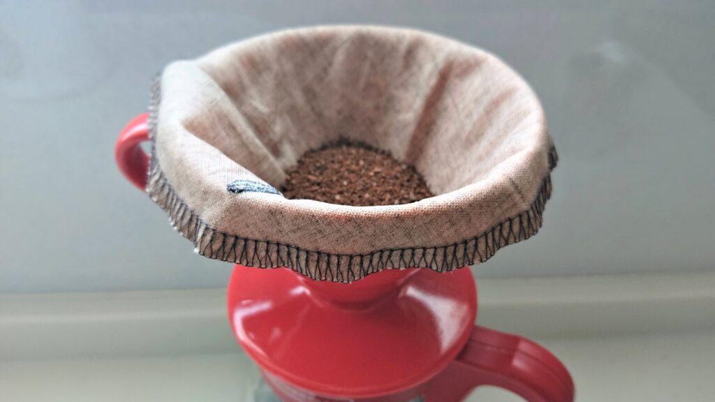麻のコーヒーフィルター